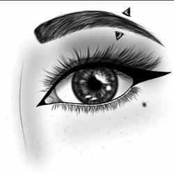IbisPaint Eye Practice