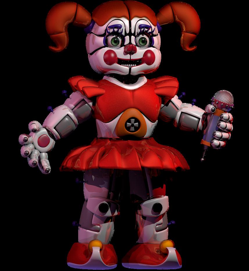 Circus Baby Render (Updated) by BananerzDonurtz83