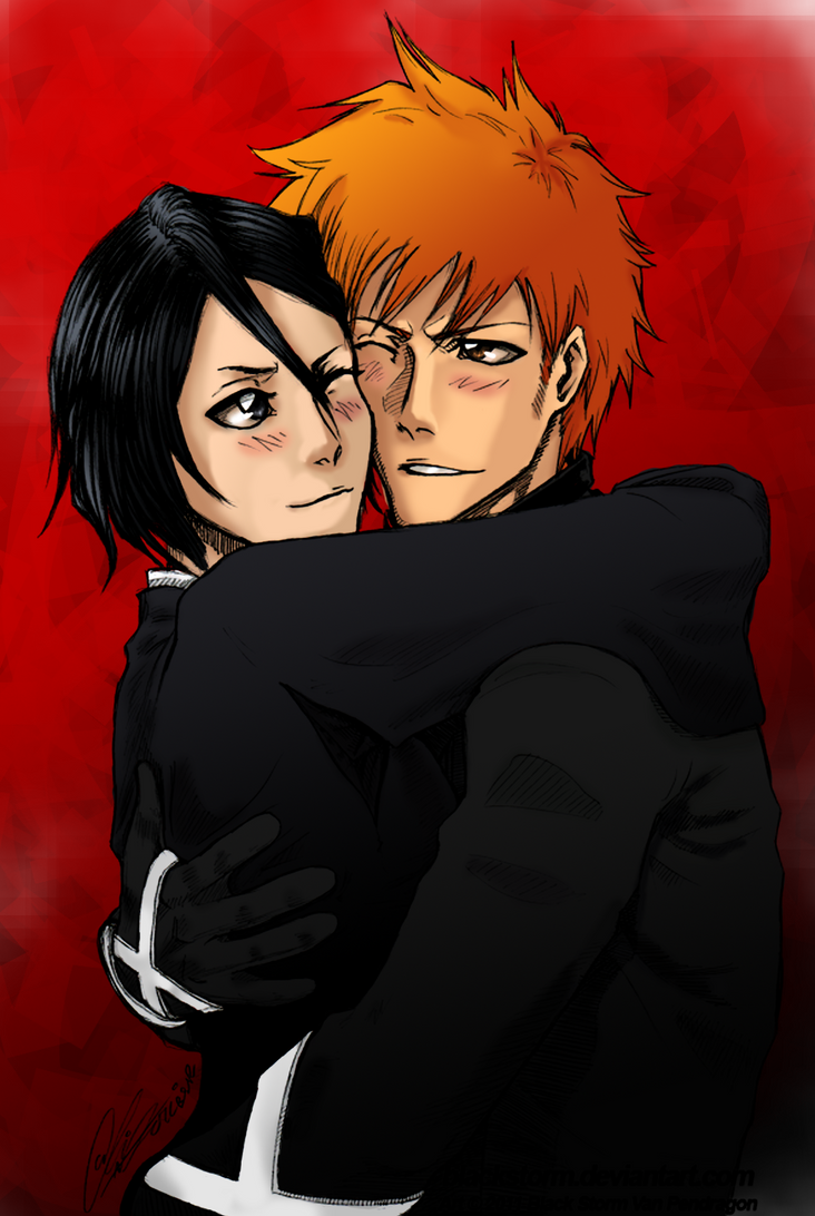 IchiRuki colours by Faeries-And-Phantoms