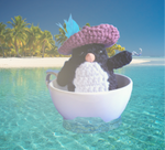 Captain Harvey the Penguin Amigurumi