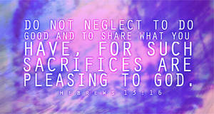 Hebrew 13:16