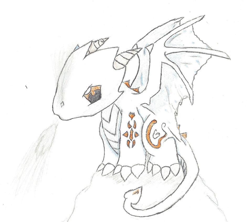 chibi ice dragon by tobywilliams on deviantart