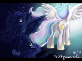 Such A Long Shadow You Cast, Sister... by PrismNight