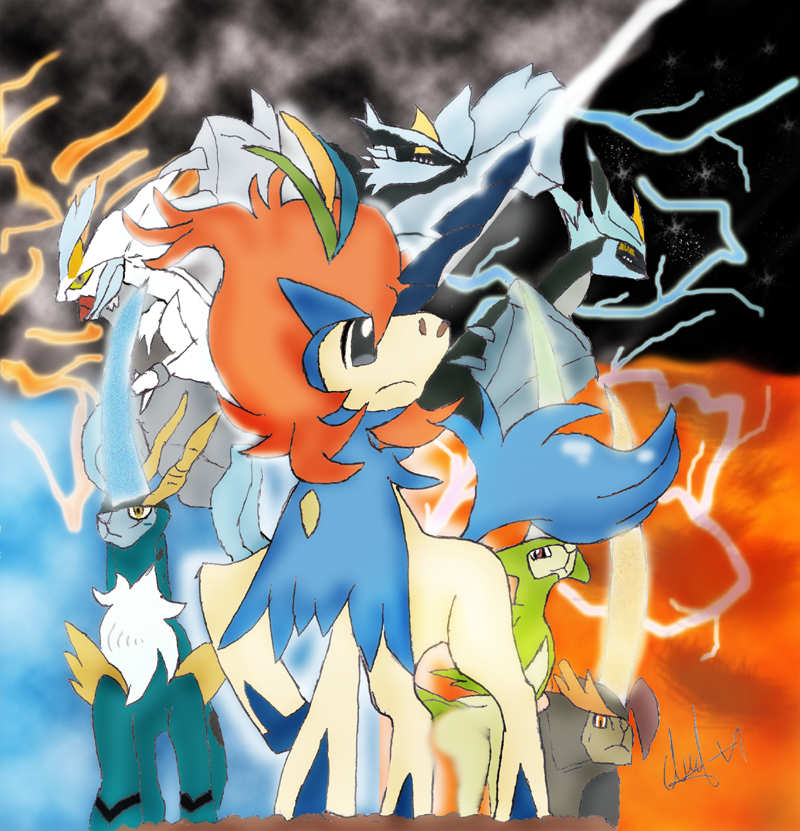 Keldeo Resolute Form and Legendary Pokemon by Recorr on DeviantArt