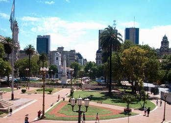 Plaza de Mayo - BsAs Argentina by Magicary