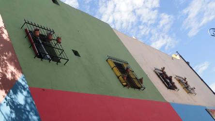 Caminito's windows by Magicary