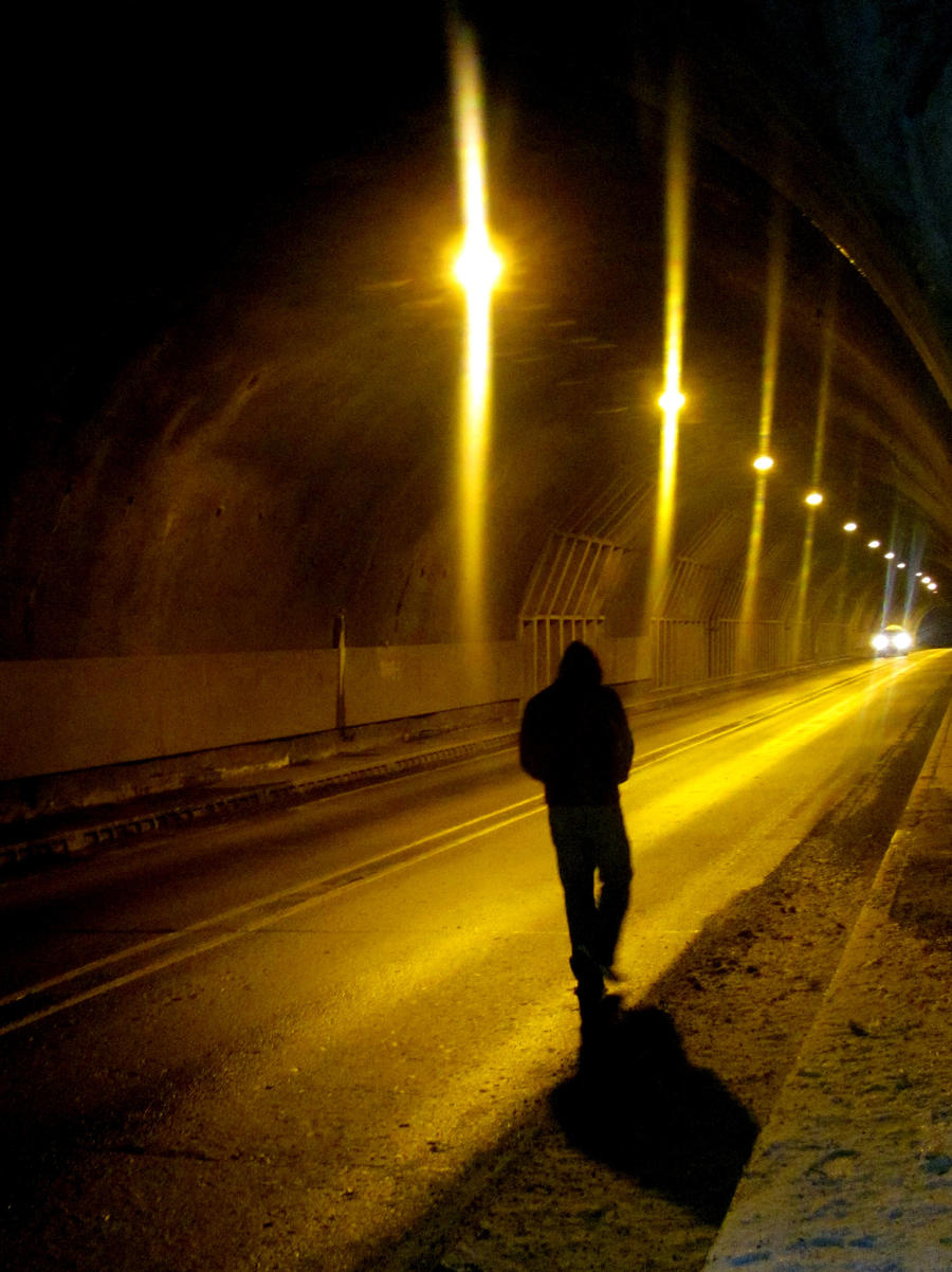 Walking Alone By DarkestStarInTheSky