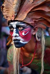Indonesian Dayak Krasak by nooreva
