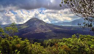 Batur Vulcano view