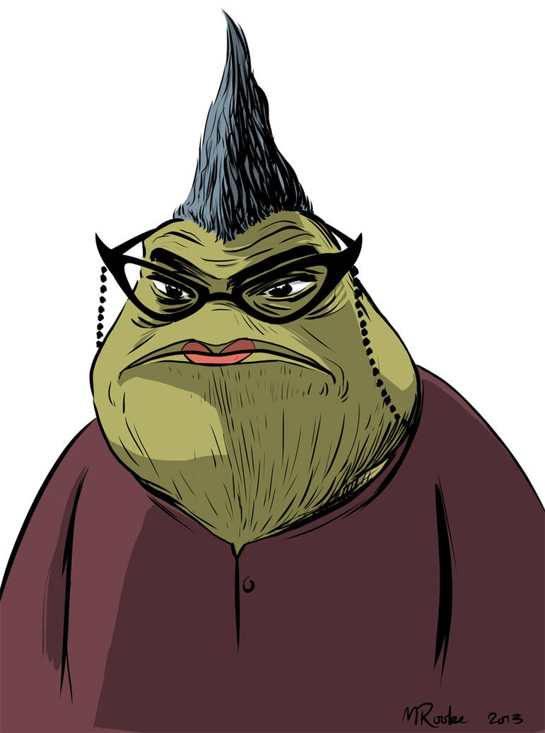 Roz From Monsters Inc By Mattrooke On Deviantart