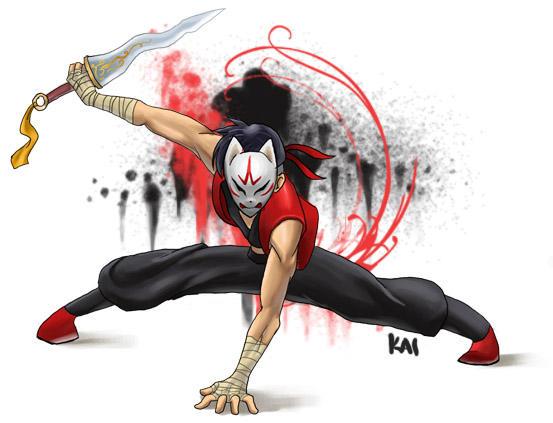 Gaia Ninja xD by drunkenstyle