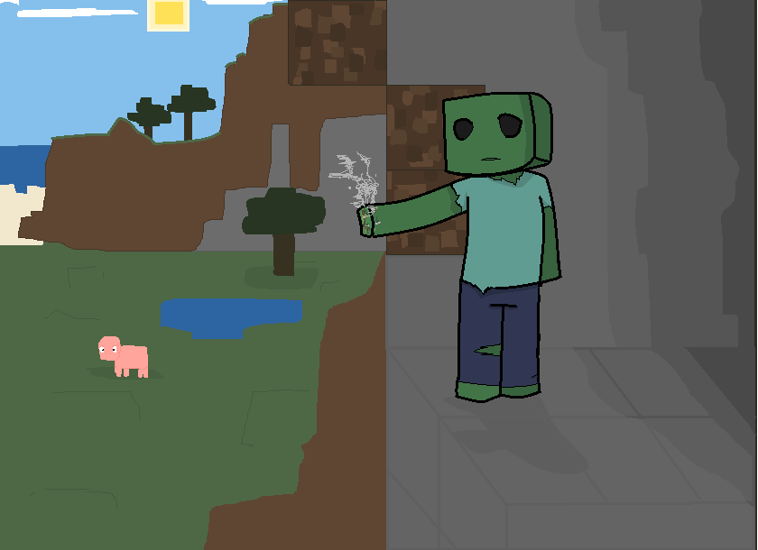 cool wallpapers of minecraft zombies - photo #28