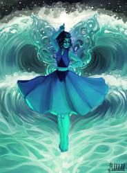 Water Butterfly by Kiwerks