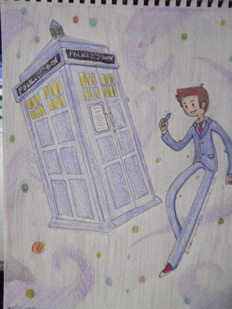 It's Space Time! Doctor Who and the Tardis by MaryTemporado
