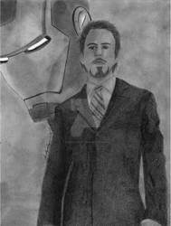 Iron Man- Tony Stark by RainDragonX