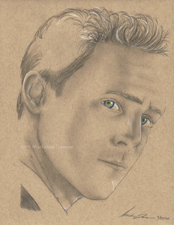 Thomas William Hiddleston by RainDragonX