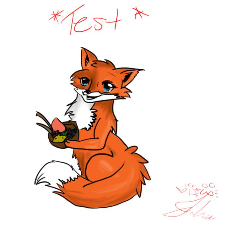 Fox TEST by Griffin-Kitten