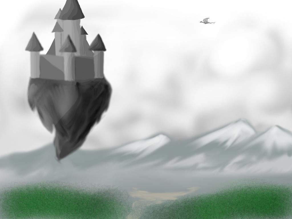 Fantasy castle by rrk13