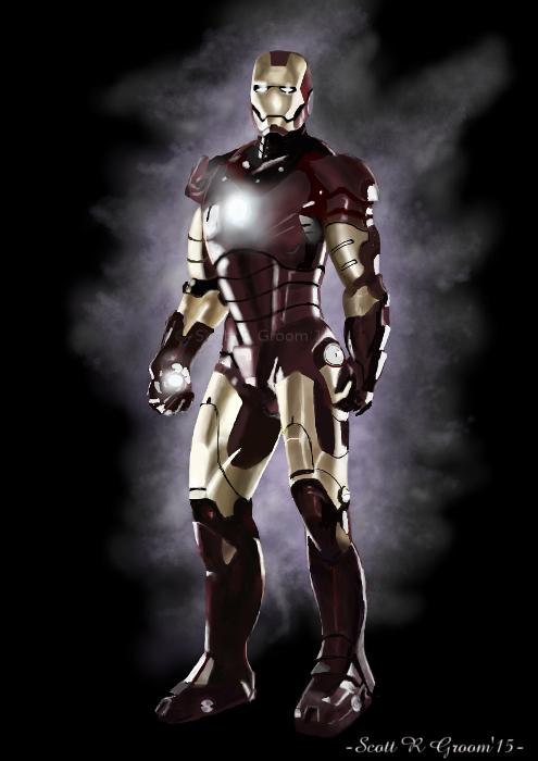 Iron Man Photo Study