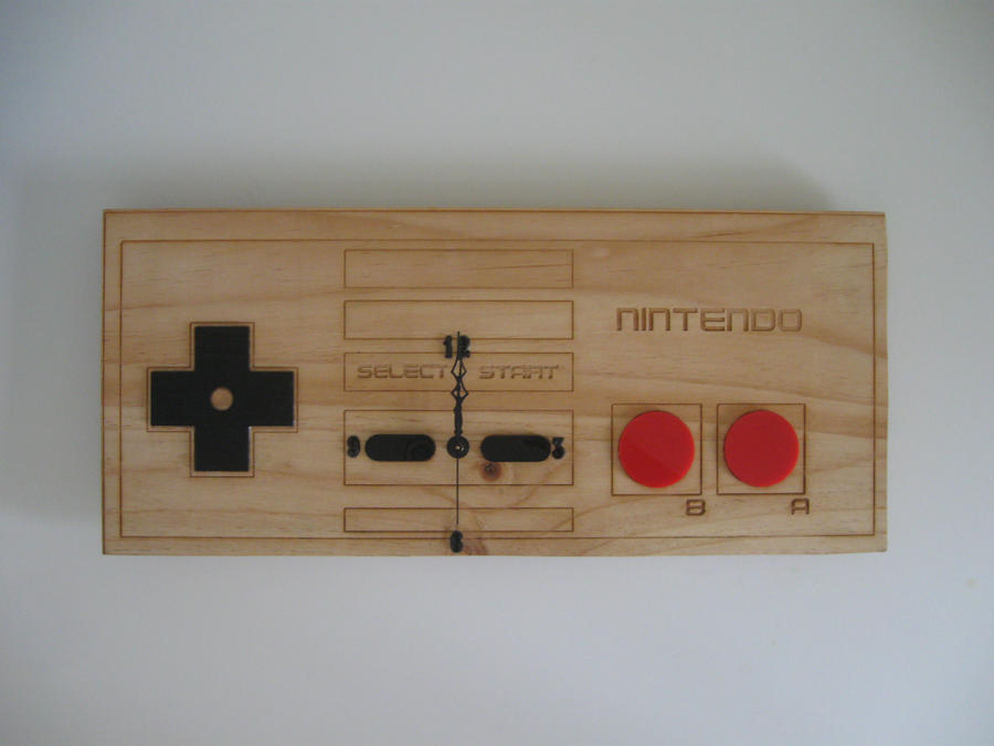 NES Controller Clock by Spaceorb