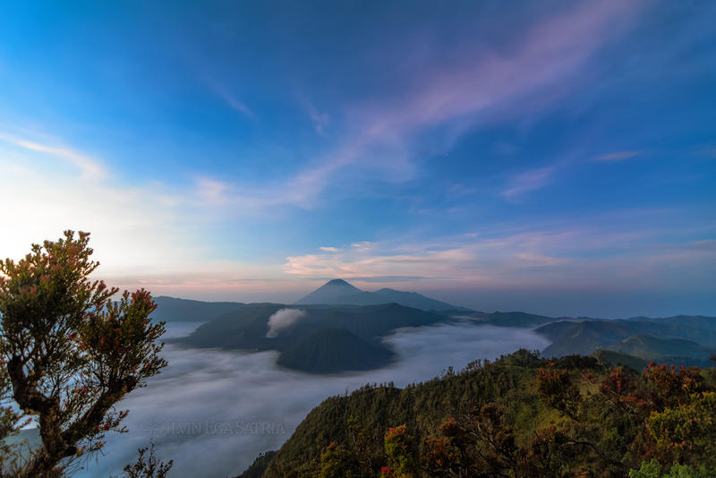 Bromo Morning Blue by EgaFX