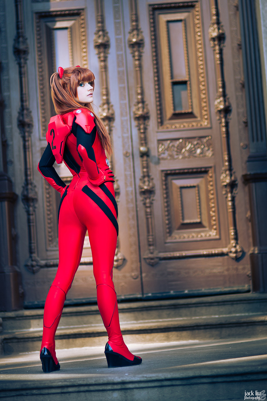 Asuka Strikes! by GebGeb