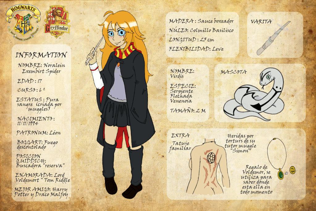 Harry Potter Oc Template - Costumepartyrun
