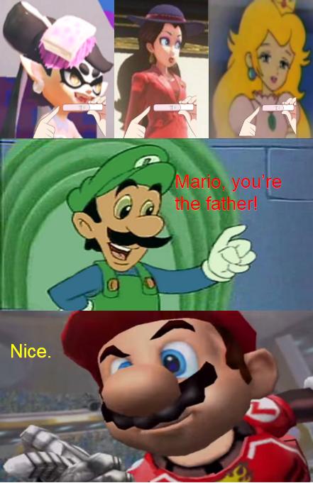Marios Girls Pregnancy Test Meme By Alliepeachfan On Deviantart