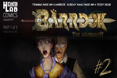 Barrdok The Wanderer #2 by fffaron