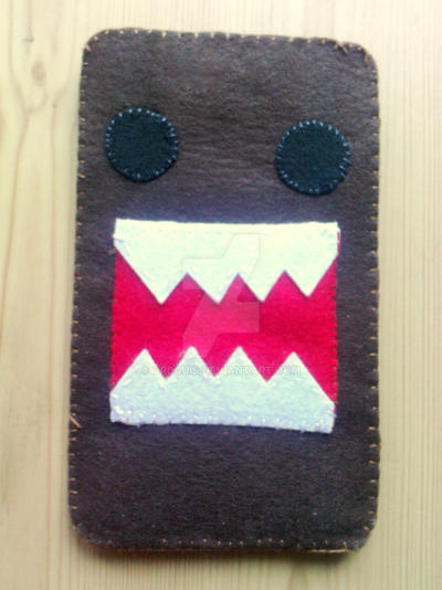 Domo-kun iPod Touch Pouch by cr0quis
