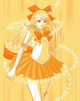 Sailor Venus Means Business by Tsukiyono-Miyu
