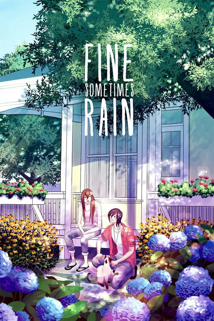 Fine Sometimes Rain Chapter 4 Cover by Tsukiyono-Miyu