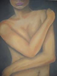 chalk woman by porcupinehead