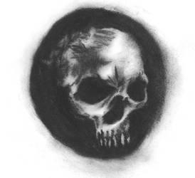 skull by porcupinehead