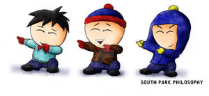 The Three South Park Boys