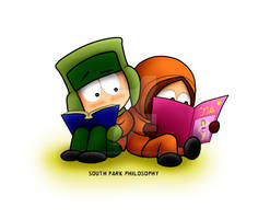 South Park Kyle and Kenny
