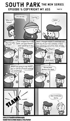 South Park Comic 105