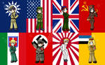 South Park WWII Nations