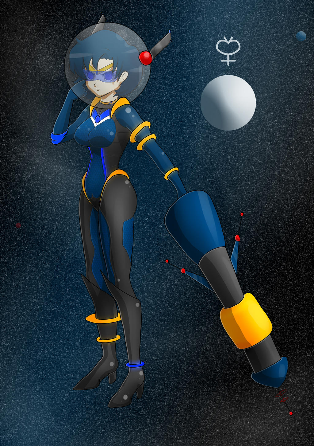 Space Sailor Scout Mercury by BaLoRiuM