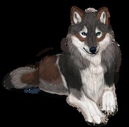Realistic ES Wolf 2 by MarkMyBirds