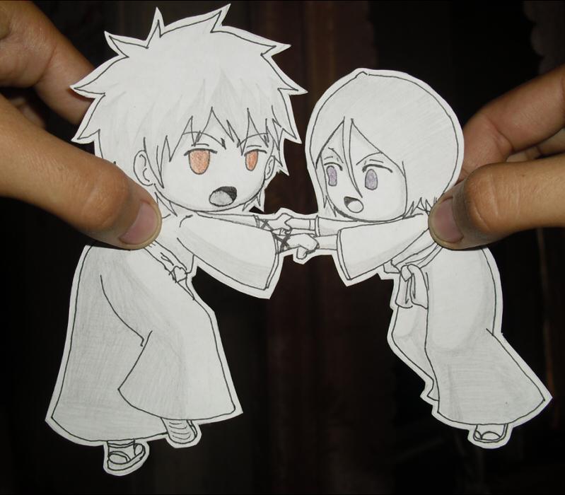 Ichigo And Rukia Baby Ichigo Kurosaki Rukia ...