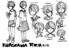 Kurokawa Riku Sketchpage by Tree-kun