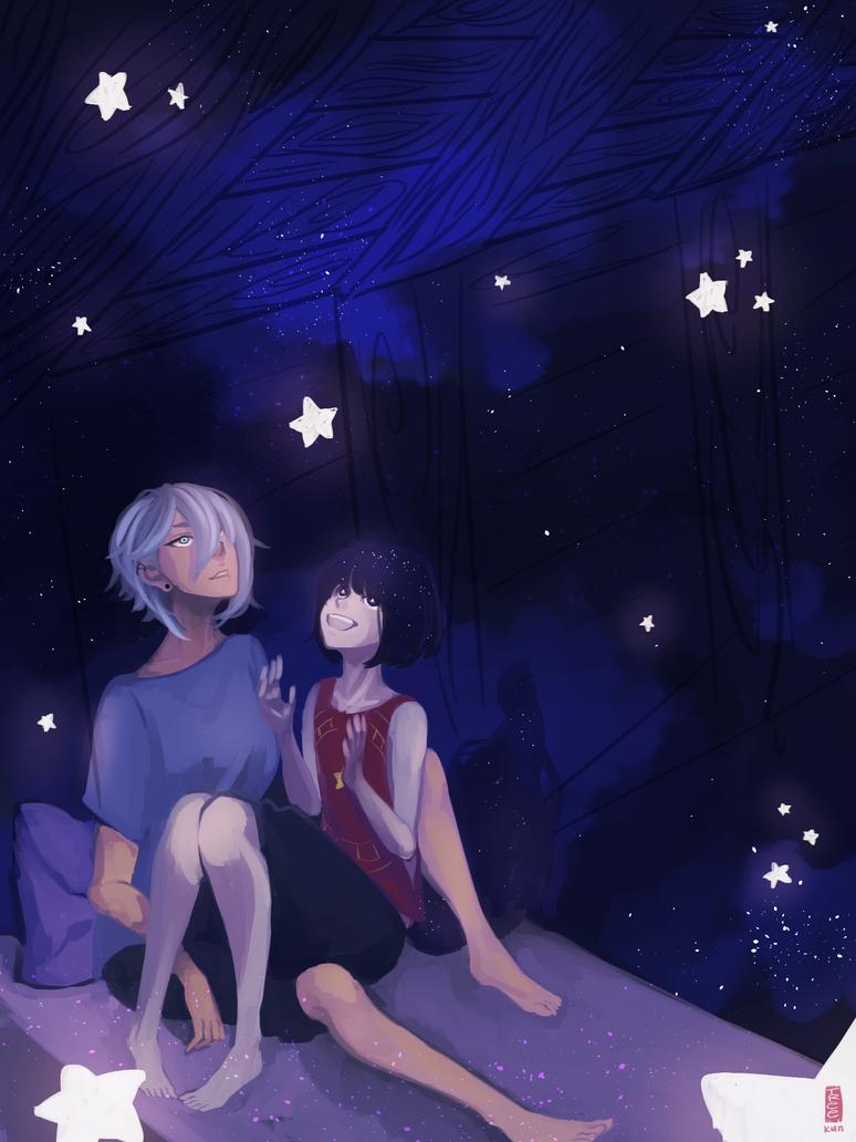 Starry Night by Tree-kun