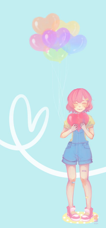 Balloon Hearts by Tree-kun