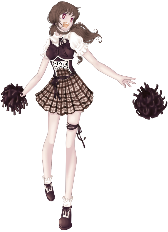 Ghotic Lolita Cheerleader by Felirile