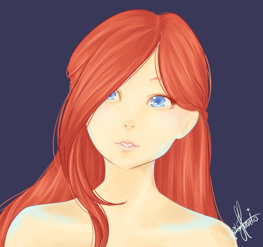 Ariel by Felirile