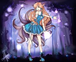 Ahri in Wonderland