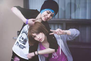 Life Is Strange - Max and Chloe by sarahhallphotography
