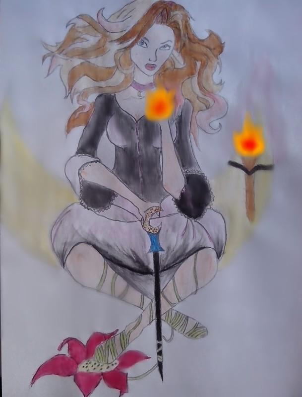 witch by VoliaDionysia