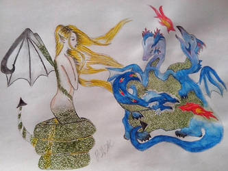 Dragon by Volia-HuntedDrakaina